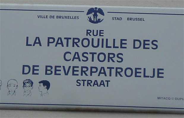 Mural La Patrouille des Castors - Mitacq