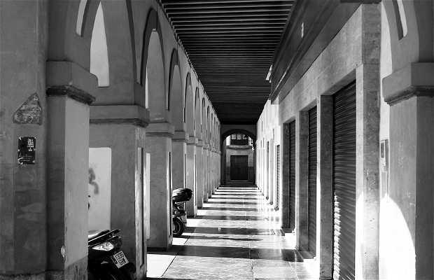 Corredera Square´s Archs