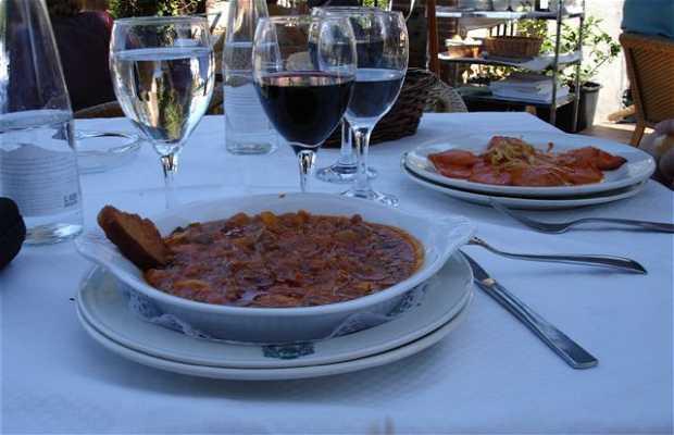 Le restaurant El Rana Verde