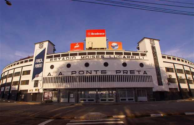 Estádio Moises Lucarelli - O MAJESTOSO