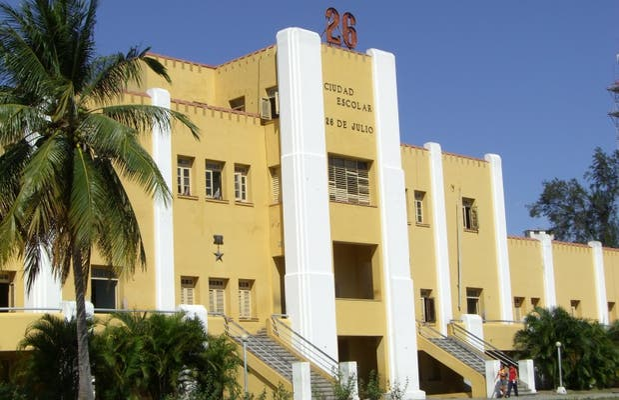 Caserma di Moncada a Santiago de Cuba
