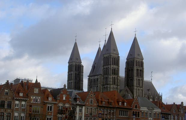 Notre Dame Cathedral in Tournai
