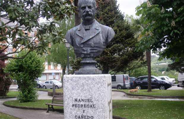 Sculpture à Manuel Pedregal