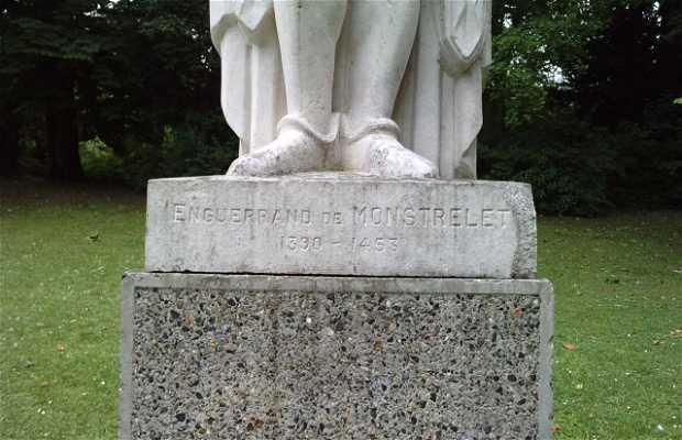 Statue de Monstrelet