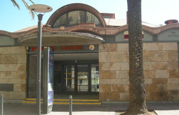 Punto di informazione turistica Le Palmarium a Perpignan