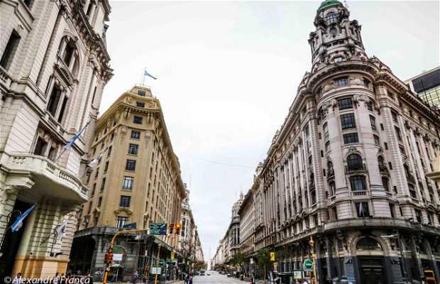 Il centro di Buenos Aires