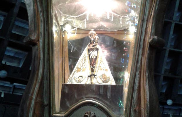 Imagem da Virgem de Nazaré Catedral de São Sebastião