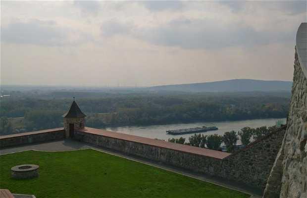 Vue sur Bratislaba depuis son château