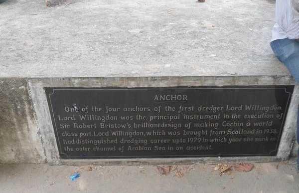 Hommage aux pêcheurs de Cochin