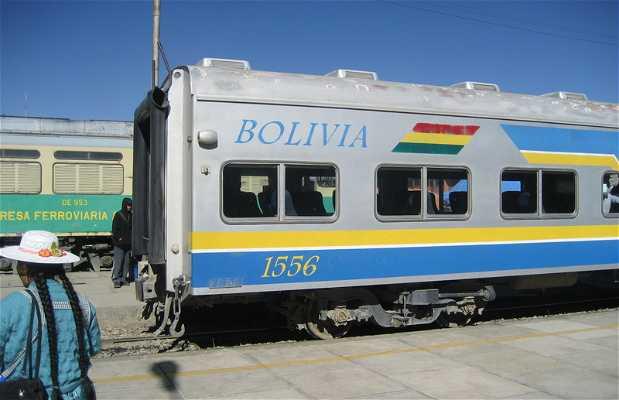 Oruro to Uyuni with train