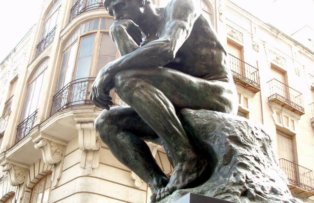 Art in the street: Auguste Rodin exhibition