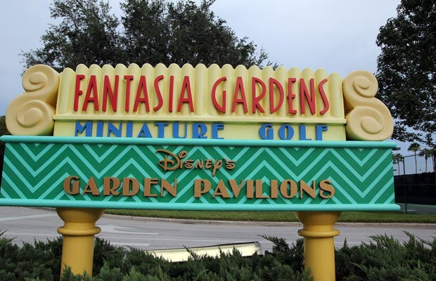 Disney 39 S Fantasia Gardens Miniature Golf Course In Lake