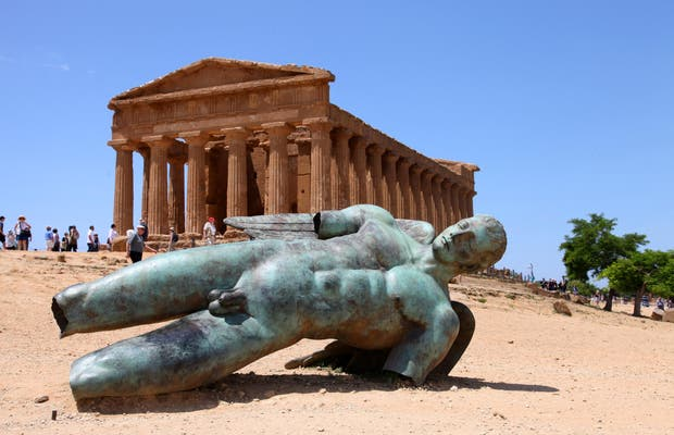 Statue de la Chute de Icarus