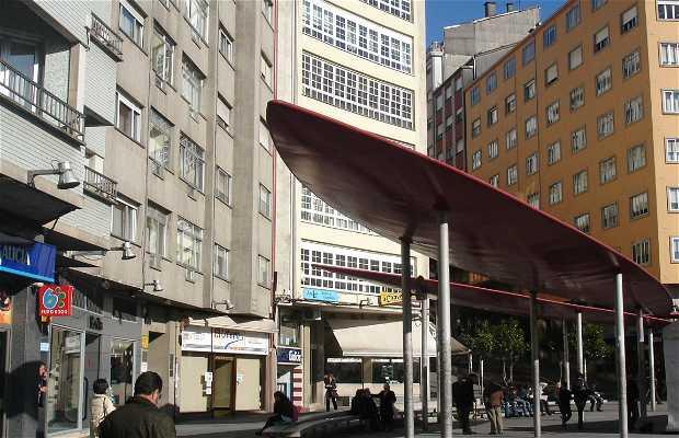 New area of Santiago de Compostela