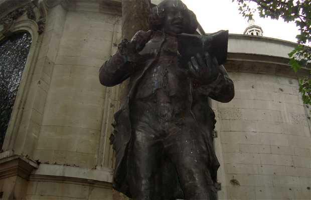 Estatua del Dr. Samuel Johnson