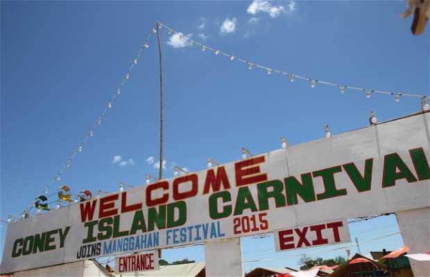 Coney Island Carnival en Manggahan Festival