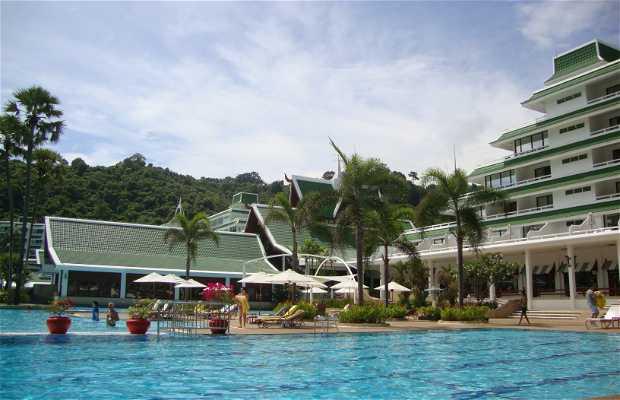 Praia Privada de Le Meridien Beach Resort de Phuket