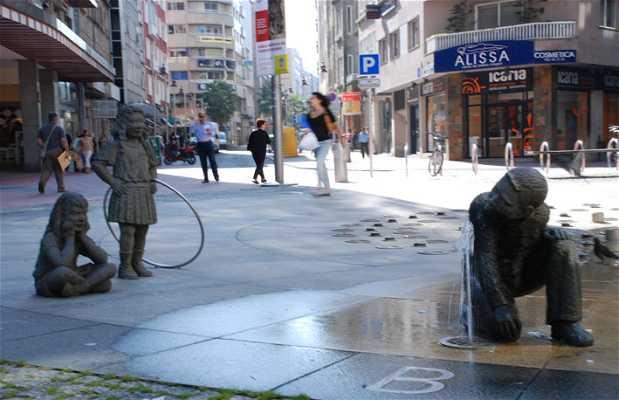 Compostela roundabout
