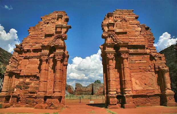 Ruinas jesuíticas de San Ignacio de Miní