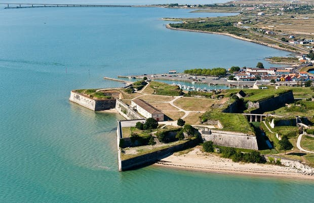 The Citadel of the Oléron castle