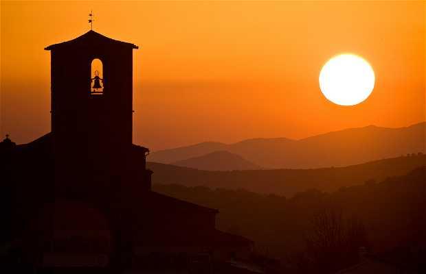 Sunset in Hervás