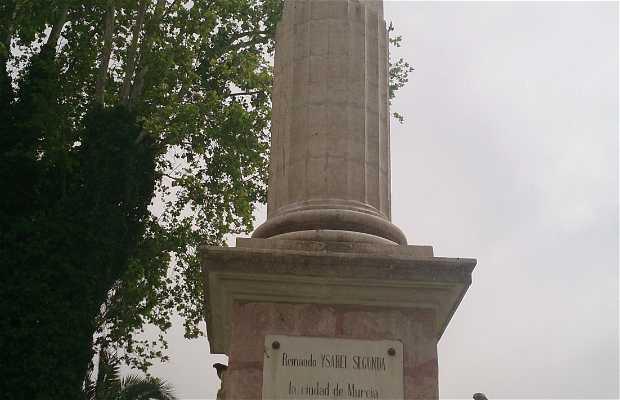 Estatua Ysabel Segunda