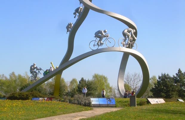 escultura tour de francia