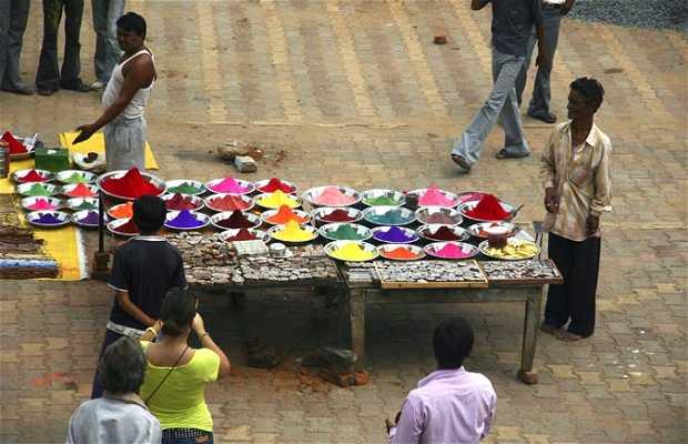 Flea market of Orchha