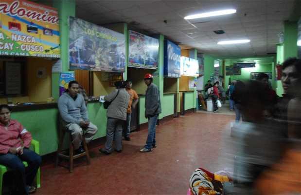 Estación de autobús de Puerto Maldonado