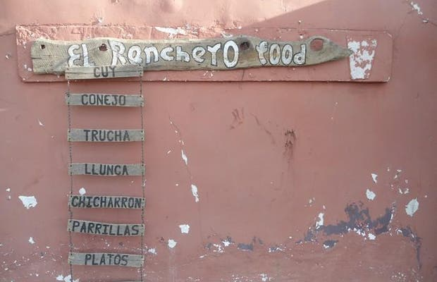 El ranchero food