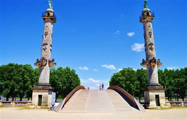 Place des Quinconces a Bordeaux