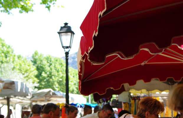 Market of Vaison La Romaine, Vaison la Romaine, France