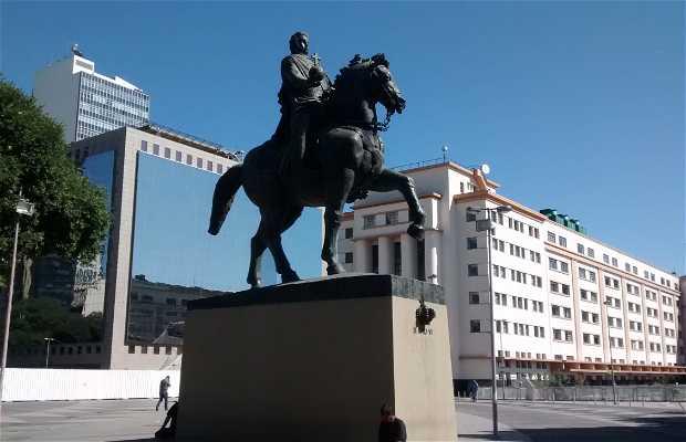 Estatua del Rey Don Juan VI