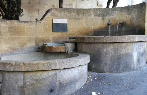 Fontaine Jousé d'Arbaud