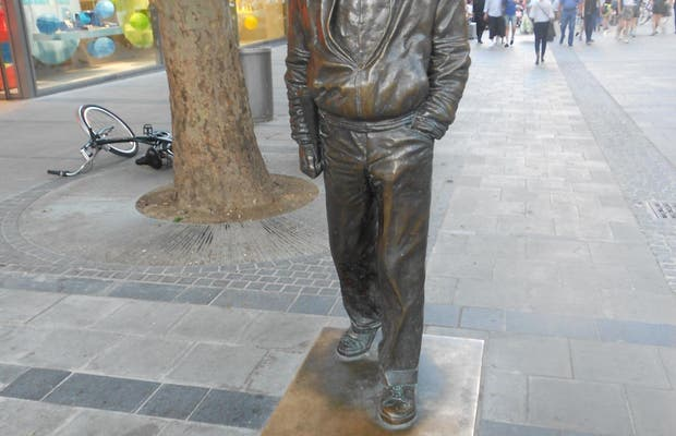Statua a Sigi Sommer