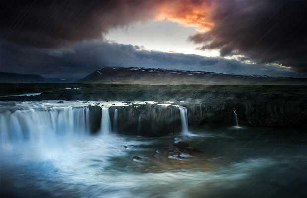 Cascada Goðafoss