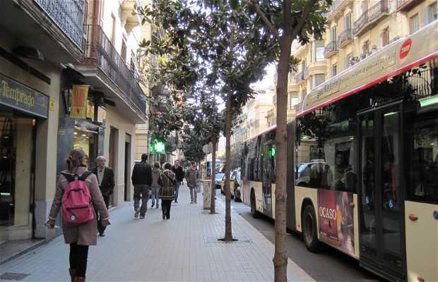 Gran de Gracia - Calle Mayor de Gracia