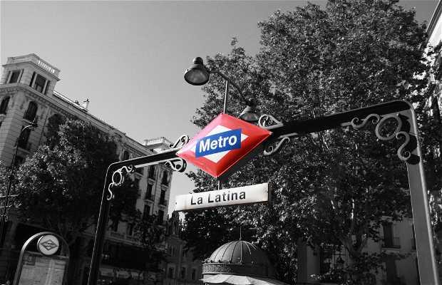 Boca de Metro de La Latina