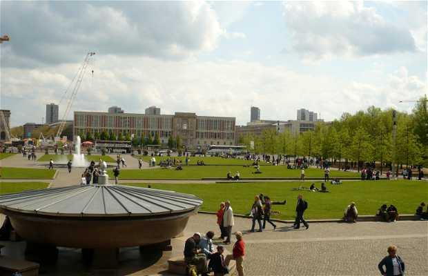 Fuente del jardín Lustgarten