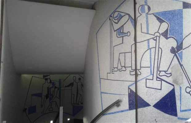 Mosaicos de Di Cavalcanti