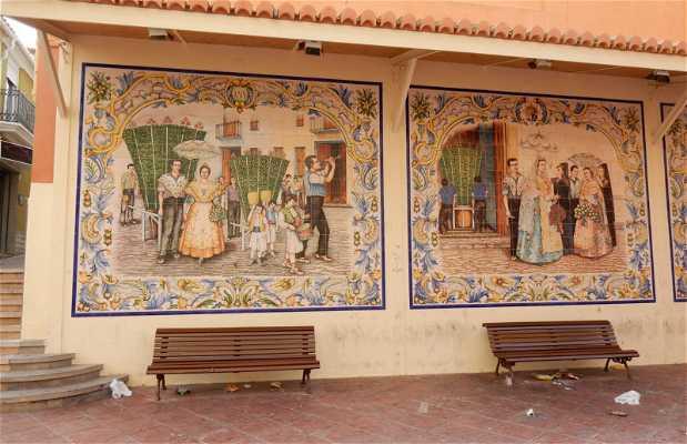 Murales de Cerámica