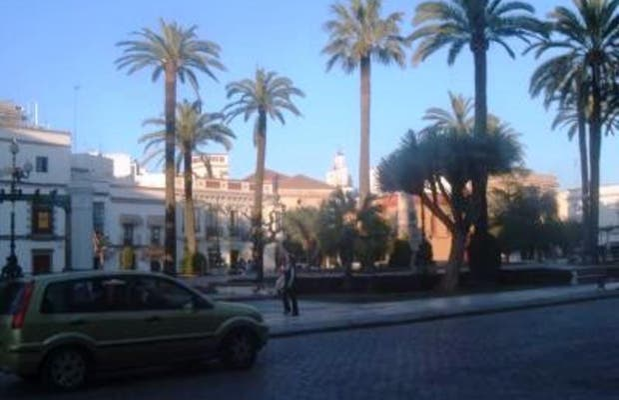 De las Angustias Square