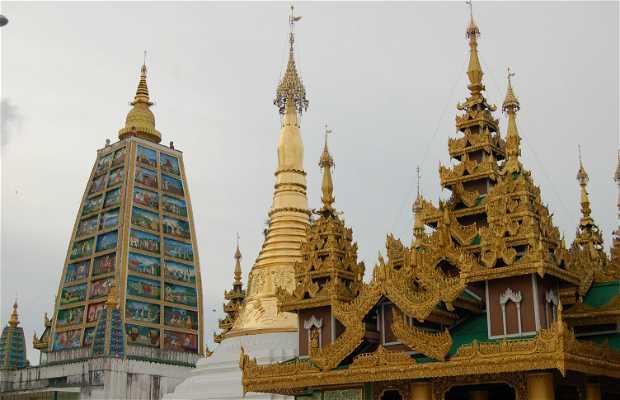 Templo indio de Shwedagon paya