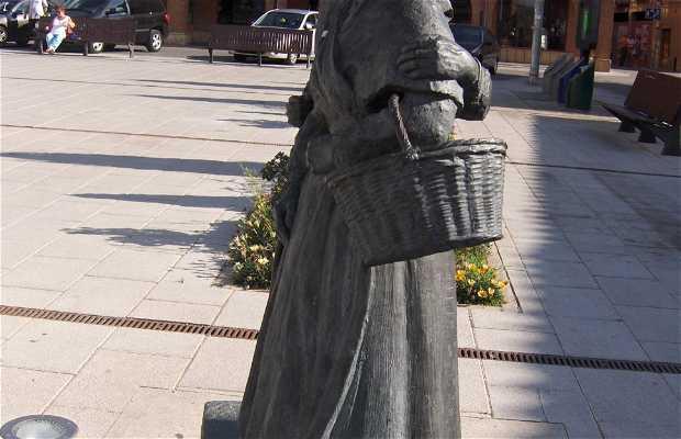 Sculpture en hommage à la région