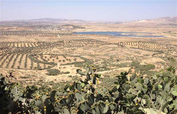 Takrouna, poblado bereber