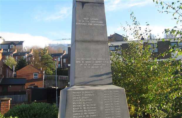 Mémorial du bloody sunday