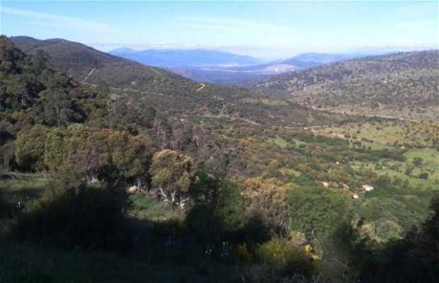 En el Pico de la Almenara.