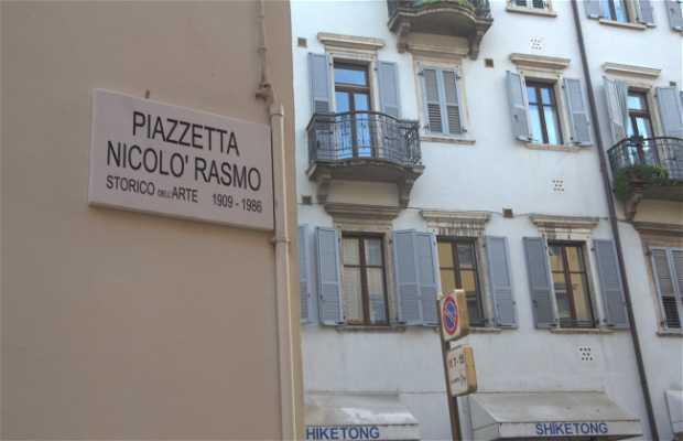 Piazzetta Nicolò Rasmo