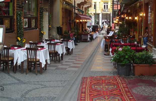 Terrazas de restaurantes de Sultanahmet