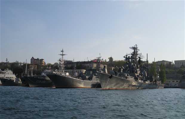 Naval base of Sevastopol